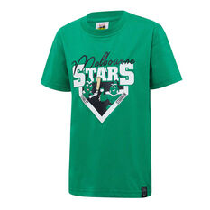 Melbourne Stars 2019/20 Kids Mascot Tee Green 8, Green, rebel_hi-res