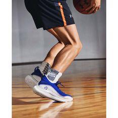 Under Armour Curry 8 Mens Basketball Shoes Royal US 7, Royal, rebel_hi-res
