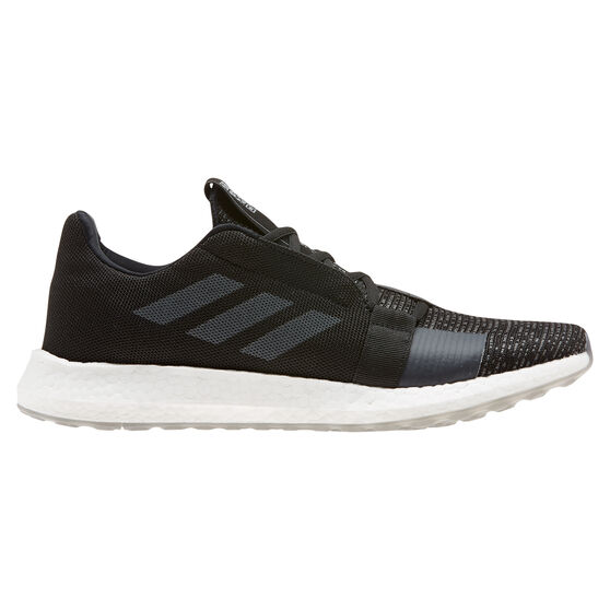 adidas Senseboost Go Mens Running Shoes, Black / Grey, rebel_hi-res
