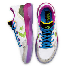 Converse G4 Mid Low Mens Basketball Shoes, White, rebel_hi-res