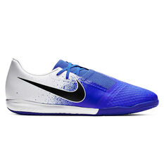Nike Phantom Venom Academy Indoor Soccer Shoes White / Black US 7 / Wo8.5, White / Black, rebel_hi-res
