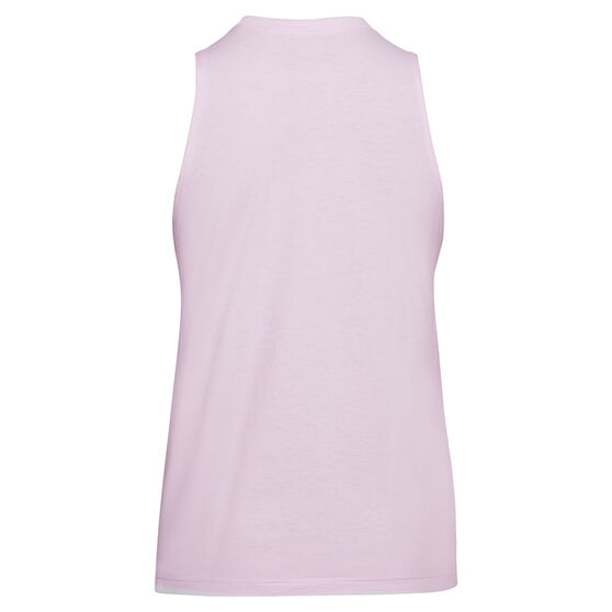 Under Armour Womens UA Logo Graphic Muscle Tank, Purple, rebel_hi-res