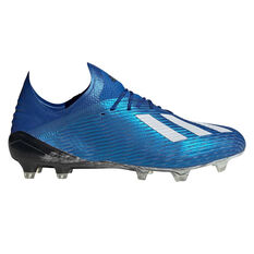 adidas X 19.1 Football Boots, Blue / White, rebel_hi-res