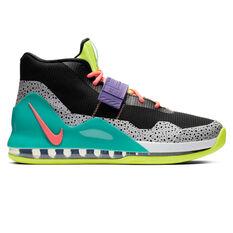 Nike Air Force Max Mens Basketball Shoes Black / Yellow US 7, Black / Yellow, rebel_hi-res