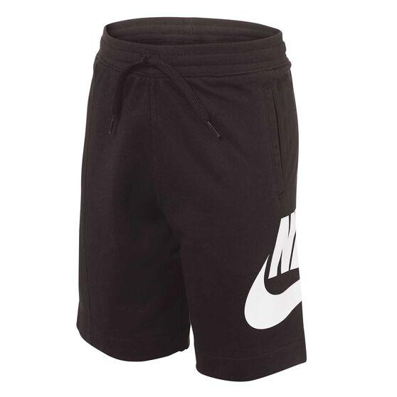 Nike Boys Sportswear Alumni Shorts, Black, rebel_hi-res