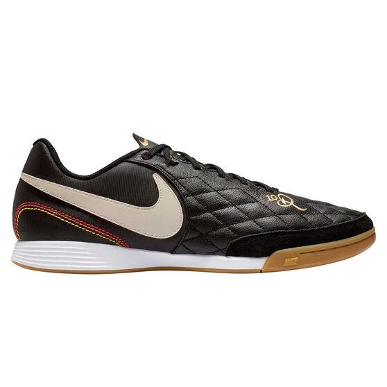 900552242 Nike Tiempo Legend 7 Academy 10R Indoor Soccer Shoes, Black / Gold,  rebel_hi-