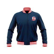 Sydney Roosters 2019 Mens Club Varsity Jacket Navy S, Navy, rebel_hi-res