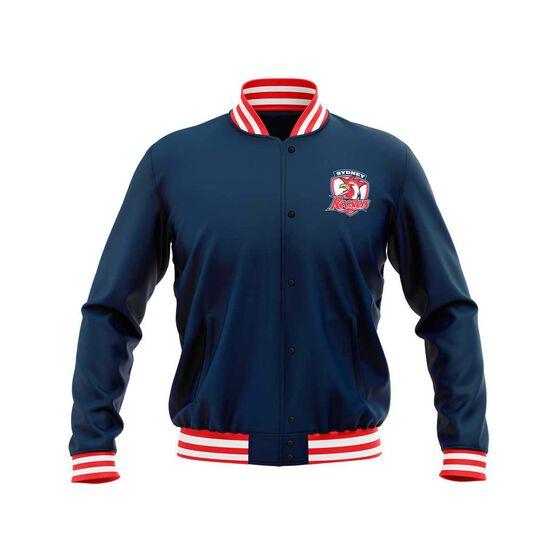 Sydney Roosters 2019 Mens Club Varsity Jacket, Navy, rebel_hi-res