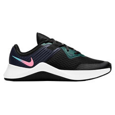 Nike MC Trainer Womens Training Shoes Black/Pink US 6, Black/Pink, rebel_hi-res