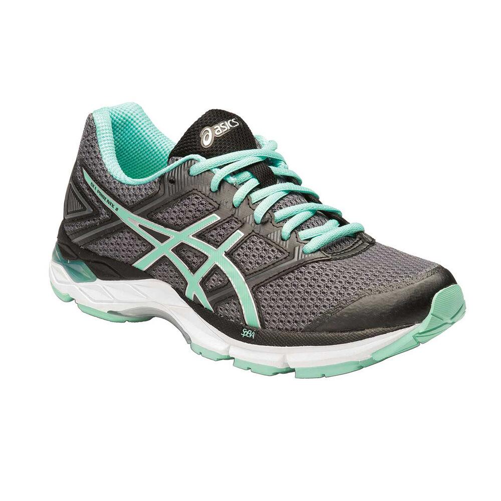 385c288d20 Asics Gel Phoenix 8 Womens Running Shoes Grey   Green US 7