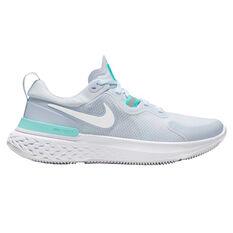 Nike React Miler Womens Running Shoes Grey/White US 6.5, Grey/White, rebel_hi-res