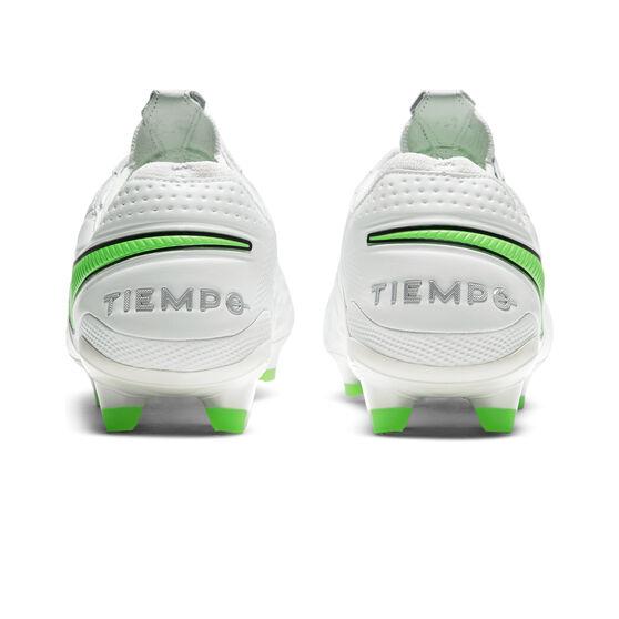 Nike Tiempo Legend VIII Elite Football Boots, White, rebel_hi-res
