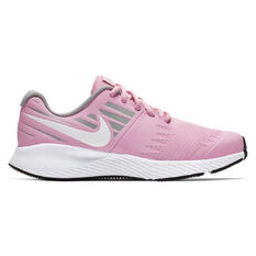 Nike Star Runner Kids Running Shoes Pink / Grey US 4, Pink / Grey, rebel_hi-res