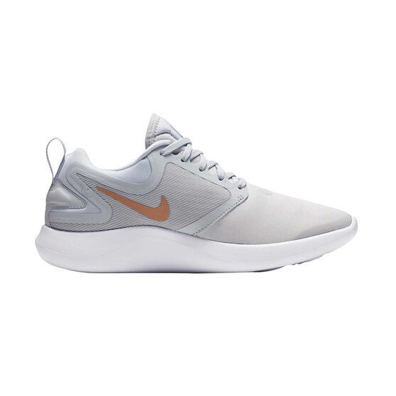 Nike LunarEpic Low Flyknit 2 Womens Running Shoes, Black / White, rebel_hi-res