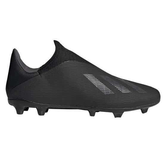 adidas X 19.3 Laceless Football Boots, Black / Gold, rebel_hi-res