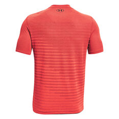 Under Armour Mens Seamle Fade Tee Red S, Red, rebel_hi-res