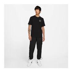Nike Mens Sportswear Just Do It LBR Tee Black XS, Black, rebel_hi-res
