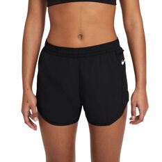 "Nike Womens Tempo Luxe 3"" Running Shorts Black XS, Black, rebel_hi-res"