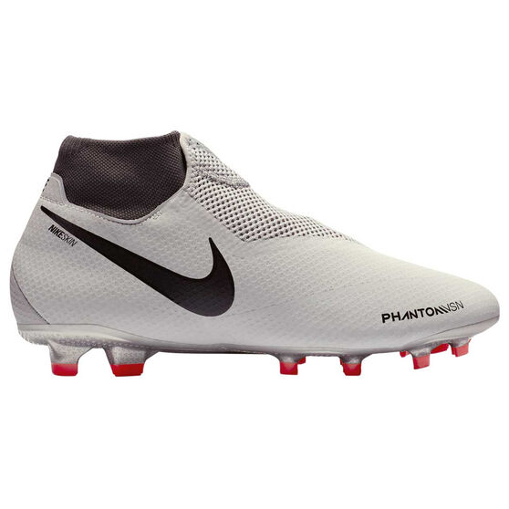 online store 584ac 3cc19 Nike Phantom Vision Pro Mens Football Boots, White   Grey, rebel hi-res