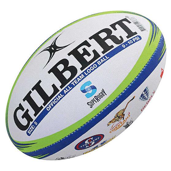 Gilbert Super Rugby All Team Logo Rugby Ball, , rebel_hi-res