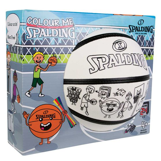 Spalding Colour Me Kids Basketball White 3, , rebel_hi-res