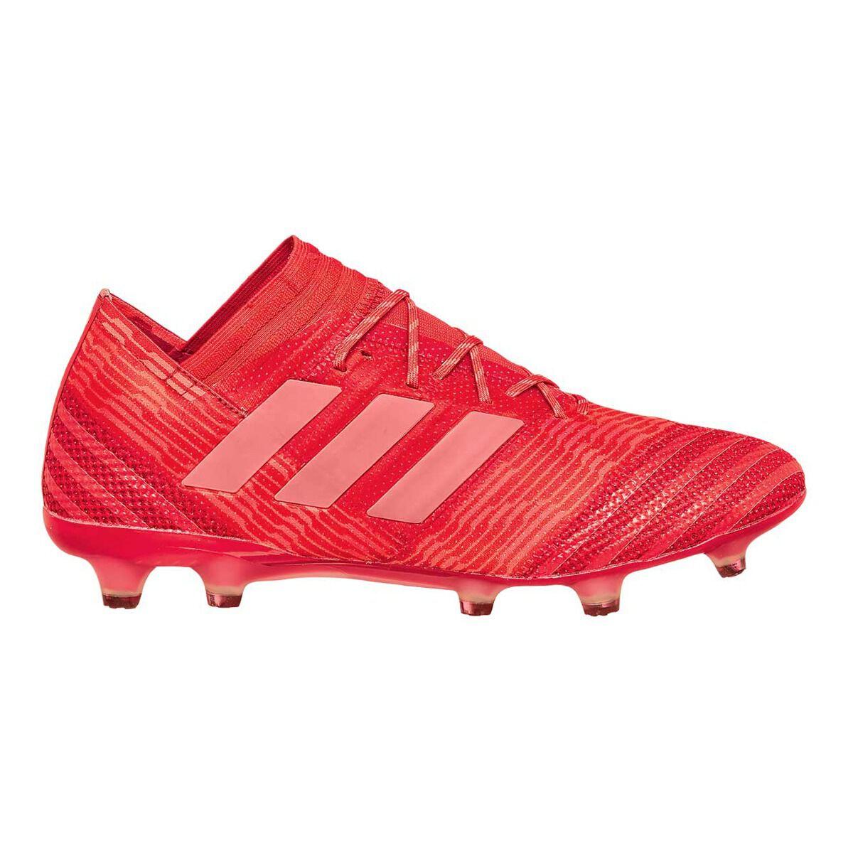 Adidas nemeziz FG hombre botas de fútbol naranja / rojo nosotros 8 adultos