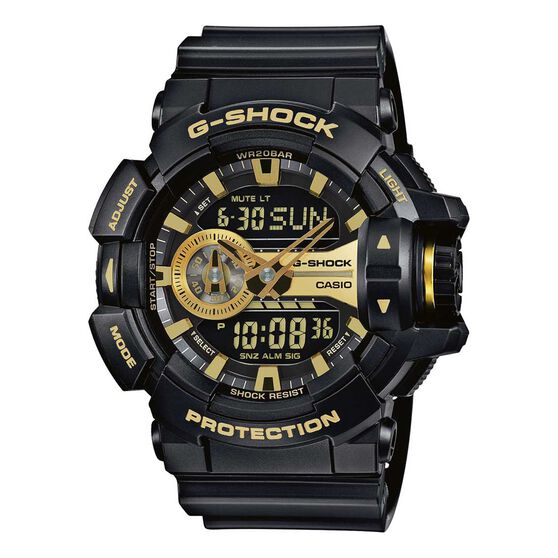 Casio G Shock GA400GB 1A9 Duo Watch, , rebel_hi-res