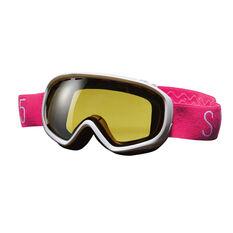 SVNT5 Girls Dogleg Ski Goggles White / Pink, , rebel_hi-res