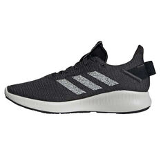 adidas Sensebounce+ Street Womens Casual Shoes, Black / White, rebel_hi-res