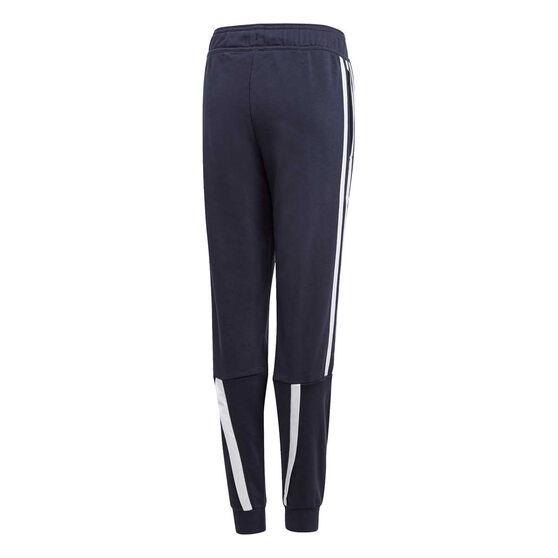 adidas Boys Bold Pants, Navy/Blue, rebel_hi-res