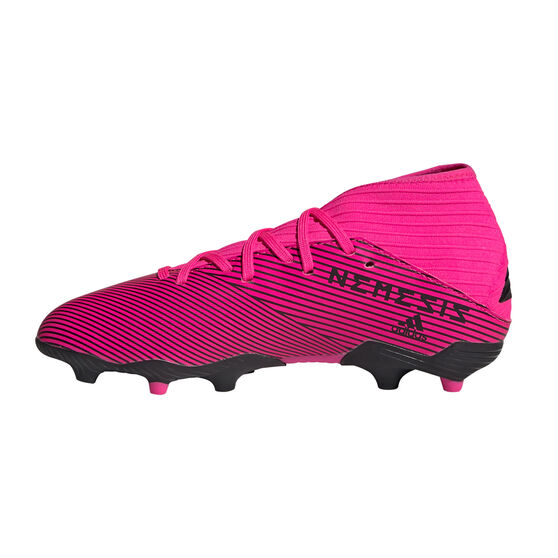 adidas Nemeziz 19.3 Kids Football Boots, Pink / Black, rebel_hi-res