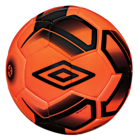 Umbro Neo Team Trainer Soccer Ball, Orange / Black, rebel_hi-res