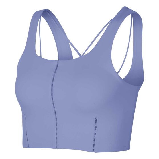Nike Yoga Womens Luxe Cropped Tank, Thistle, rebel_hi-res