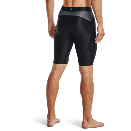 Under Armour Project Rock HeatGear Isochill Shorts, Black, rebel_hi-res