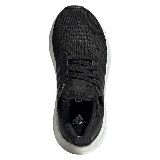 adidas Ultraboost 20 Kids Running Shoes, Black/White, rebel_hi-res