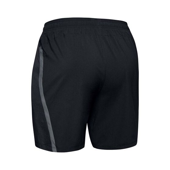 Under Armour Mens Launch SW 2-in-1 Shorts, Black, rebel_hi-res