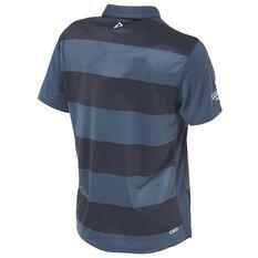 North Queensland Cowboys 2018 Mens Sublimated Polo Shirt Grey S, Grey, rebel_hi-res