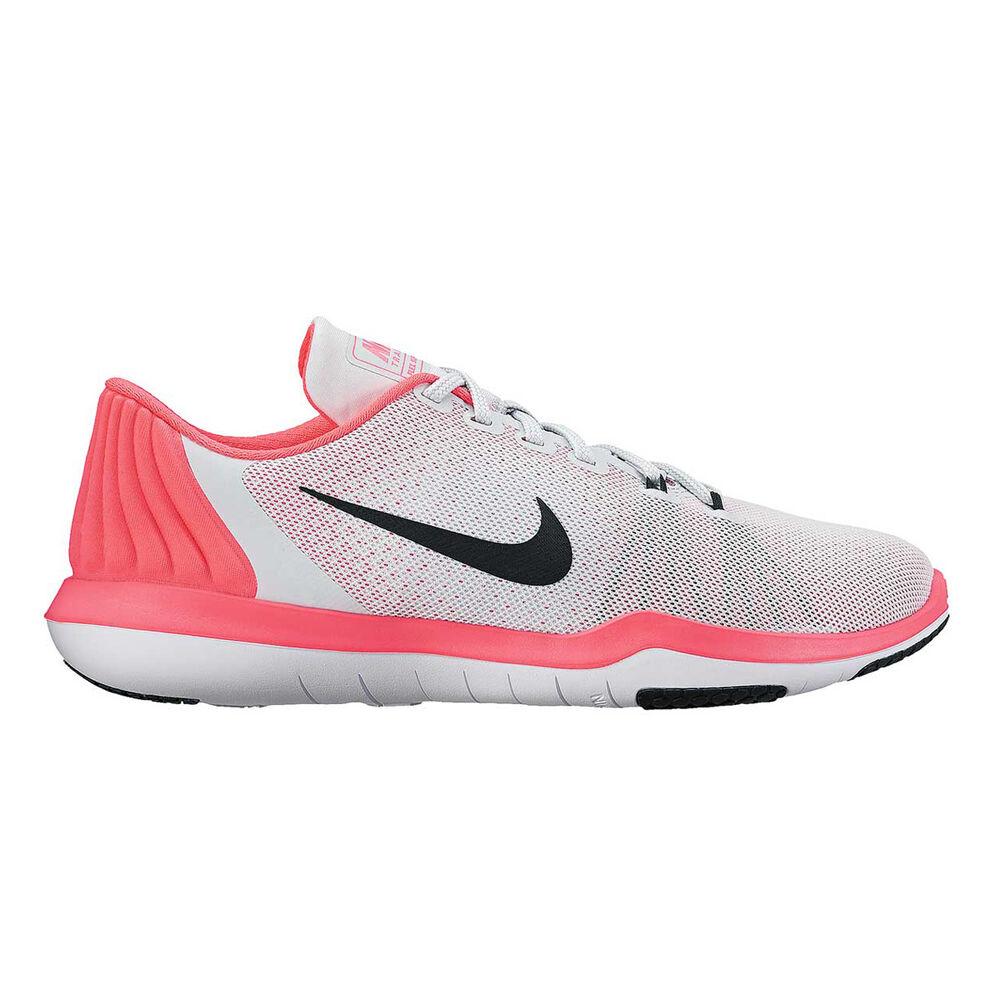 d88fd18cbdacf Nike Flex Supreme TR 5 Womens Training Shoes Grey   Pink US 10 ...