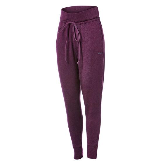 Ell & Voo Womens Hazel Relaxed Knitted Pants, Purple, rebel_hi-res