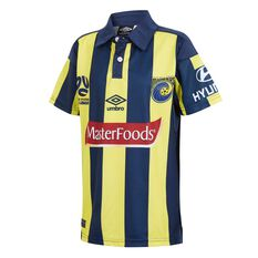 Central Coast Mariners 2018 Kids Home Jersey, , rebel_hi-res