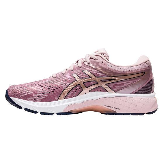 Asics GT 2000 8 D Womens Running Shoes, Pink / Rose Gold, rebel_hi-res