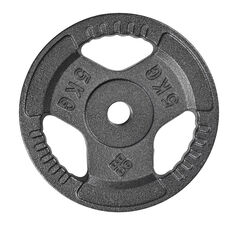 Celsius 5kg Tri Grip Weight Plate, , rebel_hi-res
