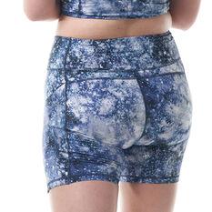 Ell & Voo Paige 5in Pocket Short Tights, Print, rebel_hi-res
