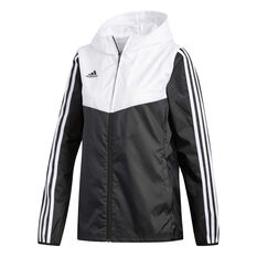 adidas Womens Tiro Windbreaker Jacket Black XS, Black, rebel_hi-res