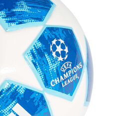 adidas Finale 18 Top Training Soccer Ball White / Blue 4, White / Blue, rebel_hi-res