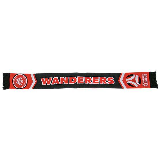 Western Sydney Wanderers FC Cleave Jacquard Scarf, , rebel_hi-res