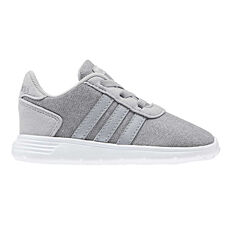 adidas Lite Racer Toddlers Shoes Grey / Silver US 4, Grey / Silver, rebel_hi-res