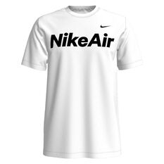 Nike Mens Sportswear Nike Air Tee White XS, White, rebel_hi-res