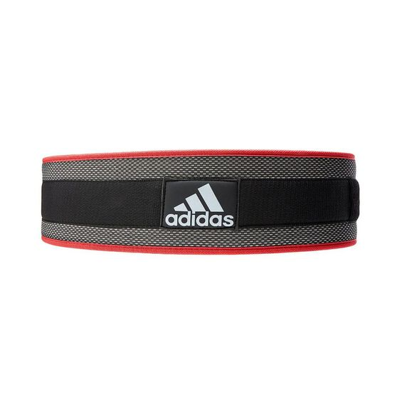 adidas Adi Lumbar Belt Black / Red XL, Black / Red, rebel_hi-res