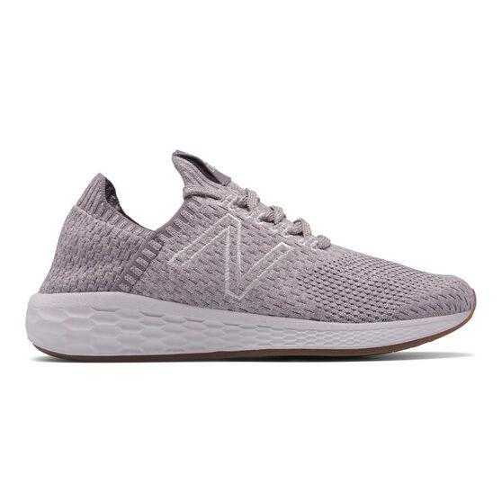 New Balance Fresh Foam Cruz Womens Running Shoes, Purple, rebel_hi-res
